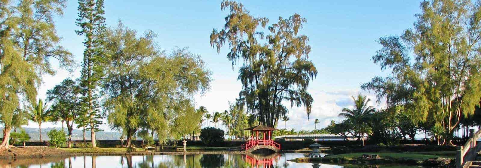 a banner image HILO Liliuokalani Park